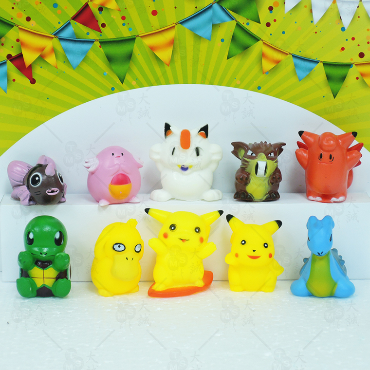 Cake Decoration Pokemon3 10pcs