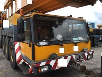 USED CRANE Liebherr Mobile Crane 400TON LTM 1400 check price of 1996Y Made in Germany used in Korea