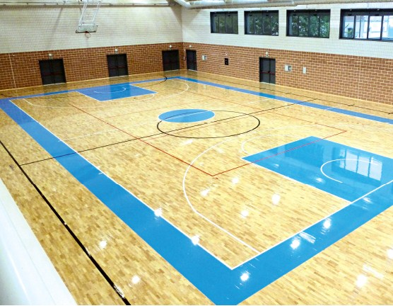 Rubberwood Sports Flooring