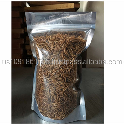 Rich Nutrition Animal Feed Dried Mealworm