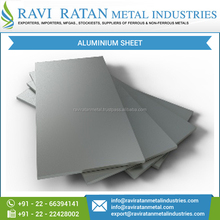 Trusted Supplier of Corrosion & Heat Resistance Aluminium Sheet/ Plate for Bulk Buyer