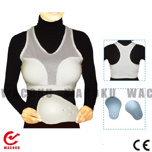 Karate ladies chest guard / chest guards / ladies chest guards