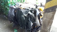 PP/EPDM /BUMPERSP baled production waste recycled plastic scraps