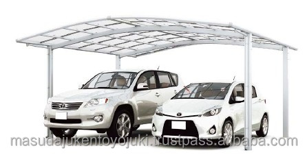 Long-lasting garage cover for car with multiple functions made in Japan