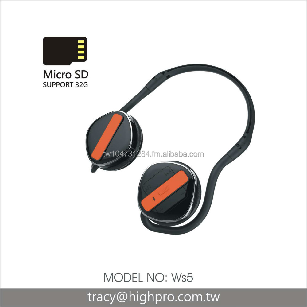 Bluetooth Stereo Headphone +MP3 2in1