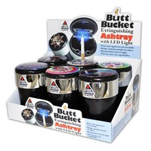 BUTT BUCKET W/LED #020547