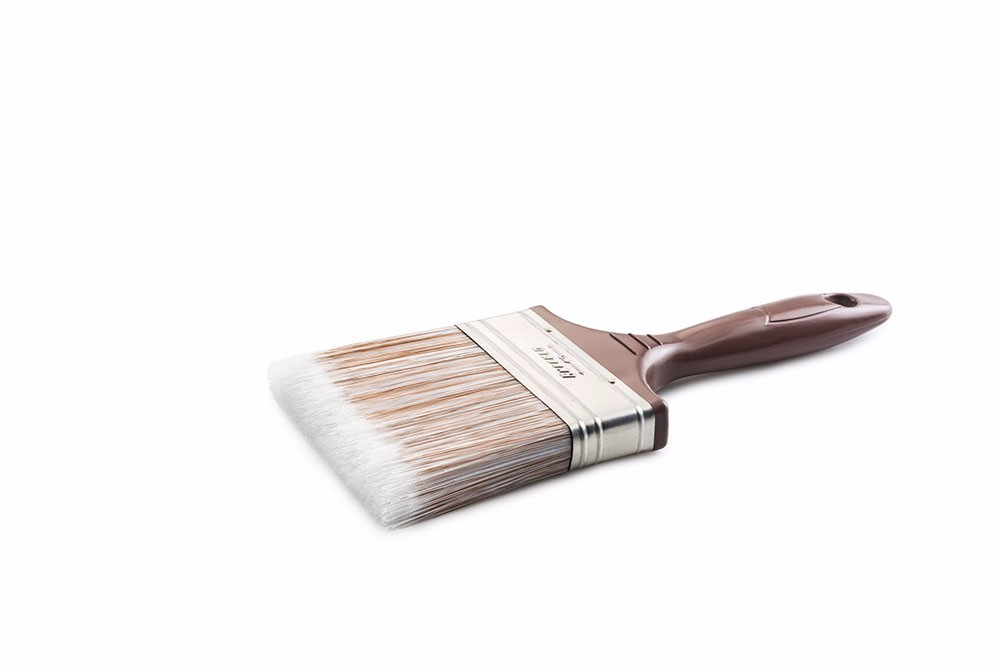 "BUFFALO PAINT BRUSH, SYNTHETIC FILAMENT, PLASTIC HANDLE, 2'' 3'' 4"" 5"""