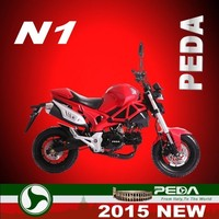 (N1-MON) 2016 NEW 50cc motorcycle 110cc pocket bike 125cc racing bike Italian design HOT SALE (PEDA MOTOR)