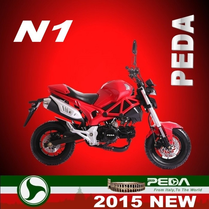 (N1-MON) 2017 NEW 50cc motorcycle 110cc pocket bike 125cc racing bike Italian design HOT SALE (PEDA MOTOR)
