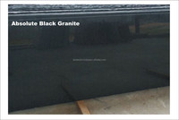 Indian Absolute Black Granite - Slabs, Tiles, Counter- Tops