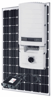 12 Panel SolarEdge SolarWorld Grid-tie System