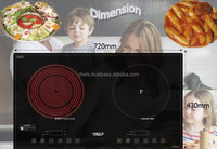 Hot and New Model Double Burner Mixed Cooker Touch Control made in Vietnam