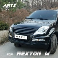 [ARTX] SsangYong Rexton W - Luxury Generation Tuning Grille (Body Color/ Black Matte / Carbon Black)(no.5879)