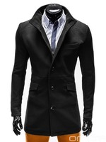 OMBRE Fashionable Autumn Winter Duffle Coat Jacket with bottons with pockets men clothes italian style
