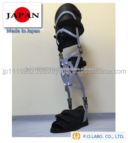 Durable back support belt Prosthetic limb made in Japan