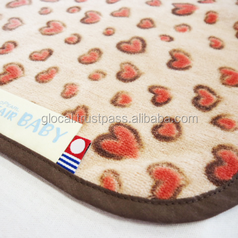Japan High quality Baby Receiving Blanket Animal Heart Wholesale