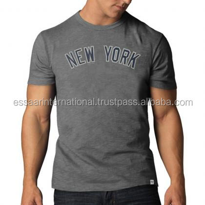 custom promotion t shirt with logo printing clothes for men