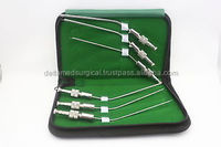 6 FRAZIER SUCTION TUBES SET 6,7,8,9,11,12 Fr Surgical ENT Instrument Non Magnet