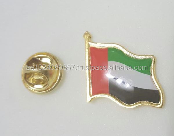 UAE Flag Pin Badge | UAE national day Flag Pin Badge | UAE national day badge