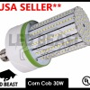 LED Corn Cob UL 6000K 30W