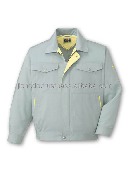 Long sleeve blouson ( eco friendly and quick dry fabric ) for spring / summer. Made by Japan