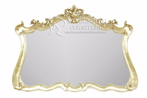 Interior Design gold & silver Black Decorative Wall Mirror, European Style Wood Carved Hanging Mirror