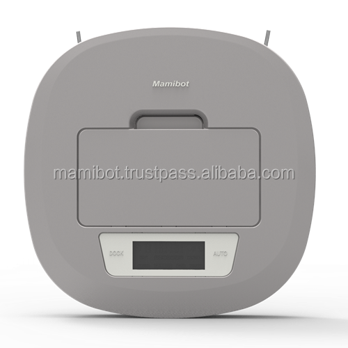 automatic intelligent bagless robot vacuum cleaner with two side brushes