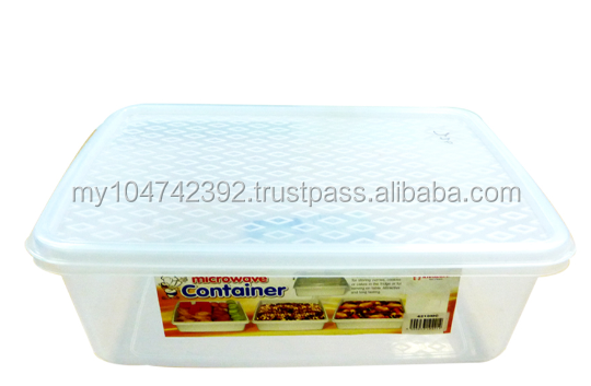 Plastic Food Rectangular Container
