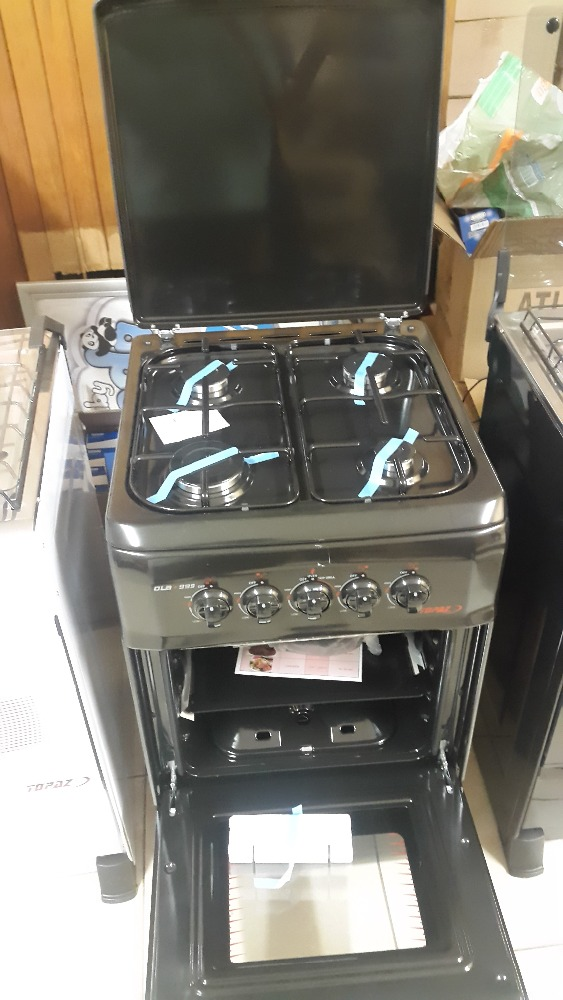 Topaz Gas Stove , Oven, Grill, Hob