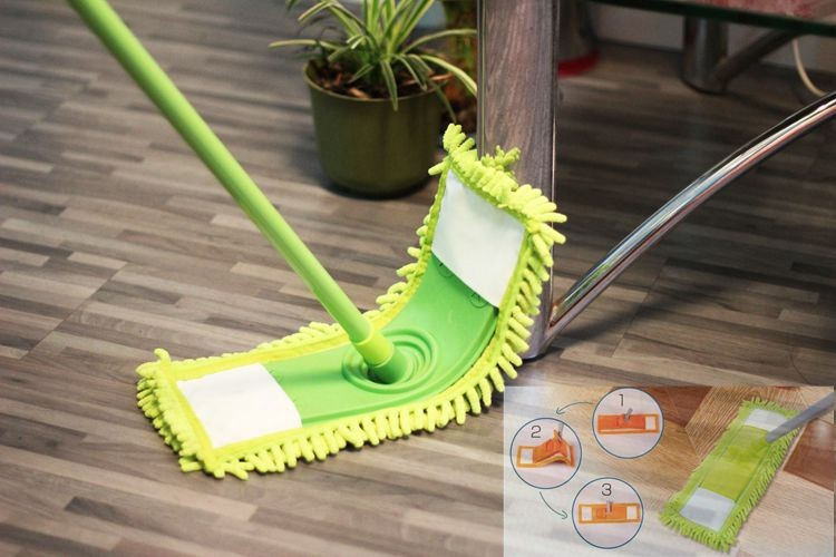 Best selling berber fleece dry mop pad for buffing the floor