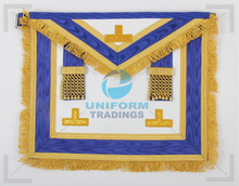 Masonic Craft Provincial Apron - (White Imitation Leather)
