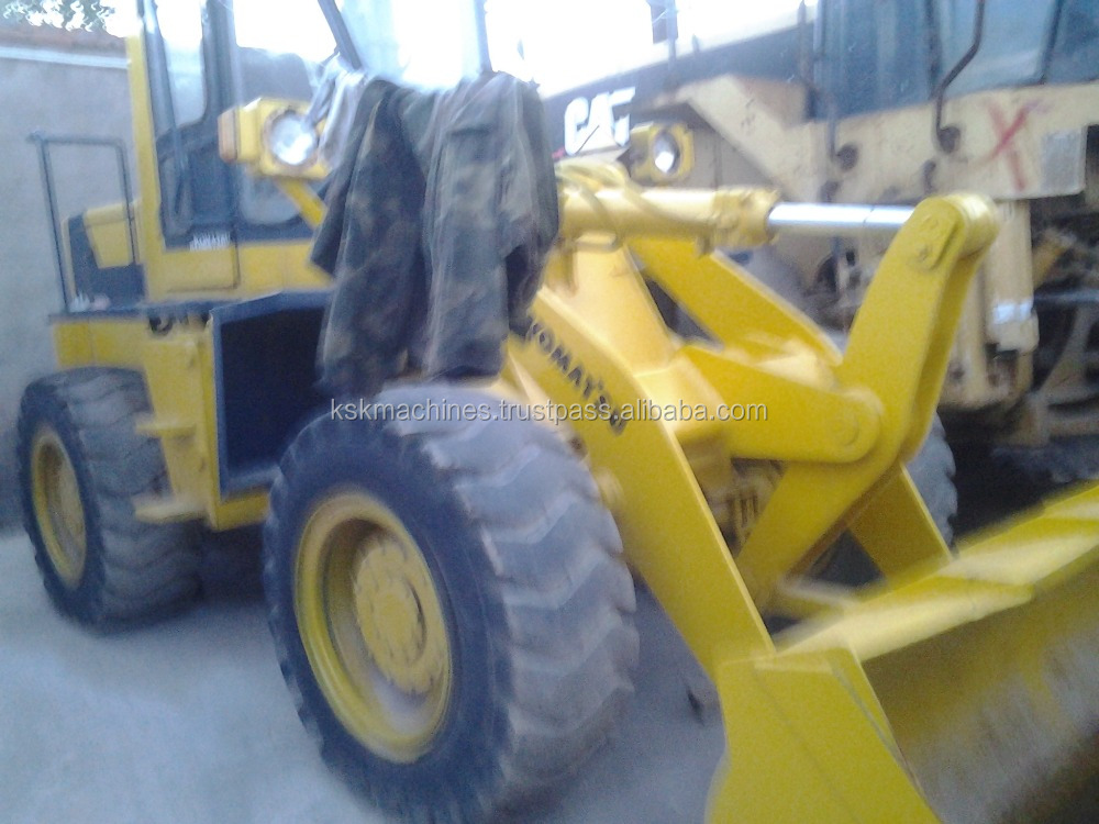komatsu wa100 used mini wheel loader for sale