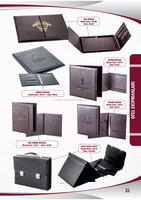 A4 and A5 restaurant menu cover faux leather hotel menu made in Turkey