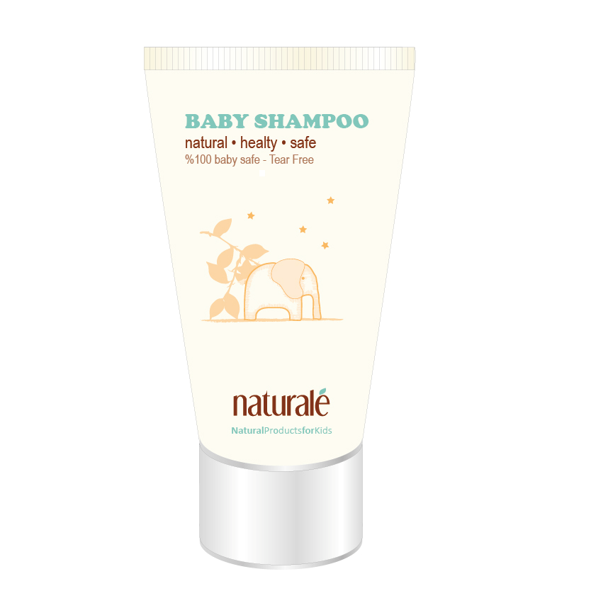 Naturale Tear Free Baby Shampoo in Tube