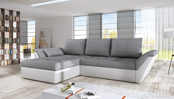 Corner sofa bed with storage Fly