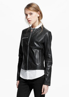 Pakistan Produces Stylish Original Genuine Leather Jackets for Women