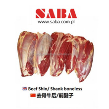 Frozen Beef Shin/ Shank from Poland (approved for HK)