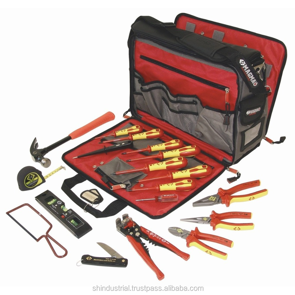 Electrician tool kit set for engineering