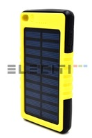 Solar External Battery Charger 15000mAh high capacity for smartphones and tablets Eleciti V1465