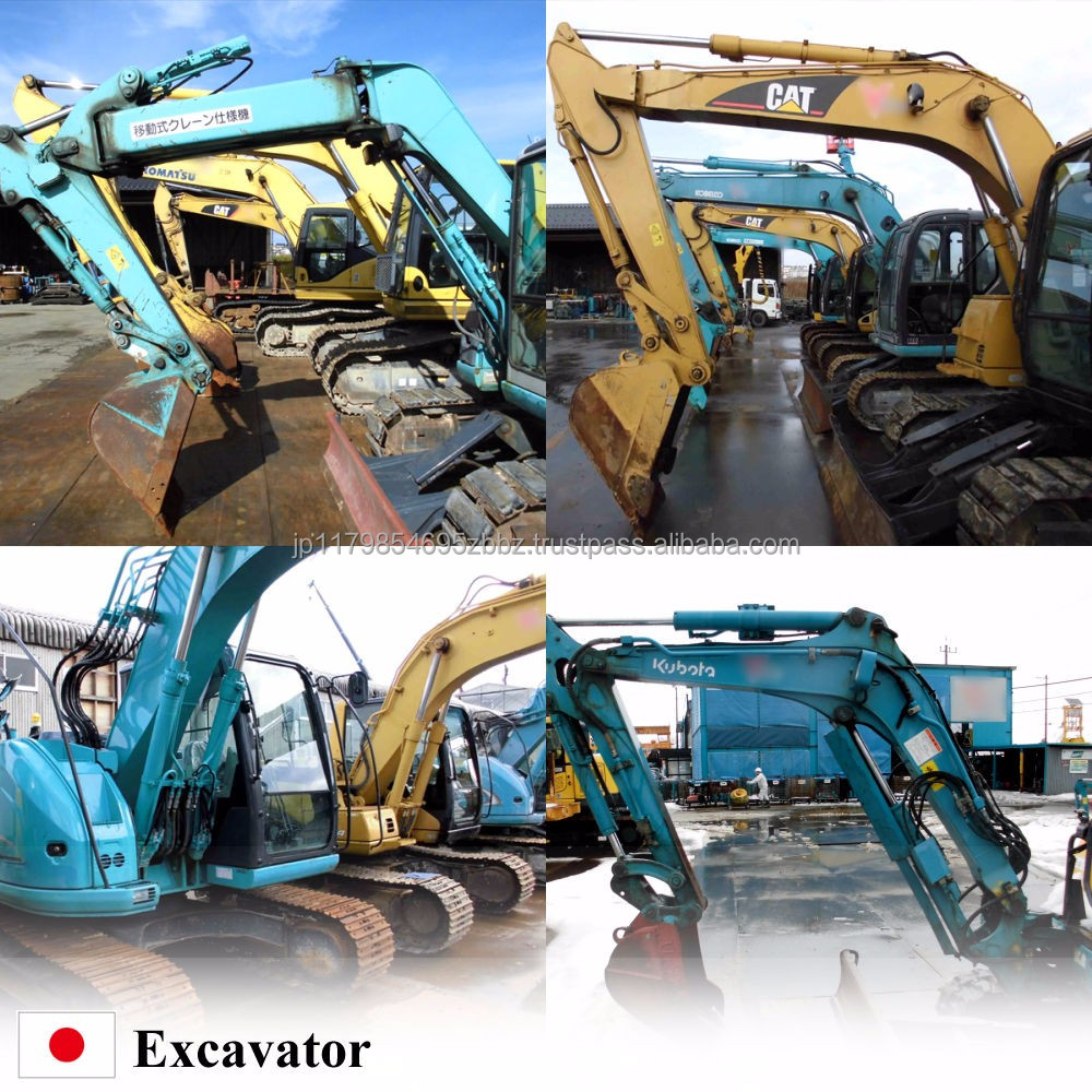 High-performance and Reliable komatsu excavator for construction use , parts also available