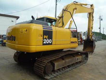 Used Komatsu Excavator Machines for sale PC200-7, good condition