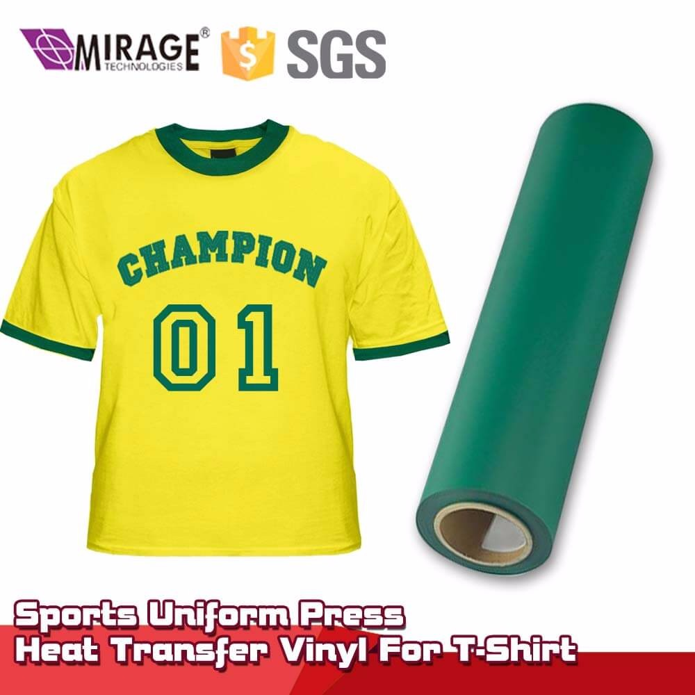 Sports Uniform Press Heat Transfer Vinyl For T-Shirt