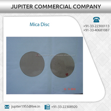 Round Shape Mica Disc Available from Top Dealer at Considerable Cost