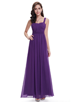 Long Purple Bridesmaid Dress for Women HE08504 Mix Wholesale