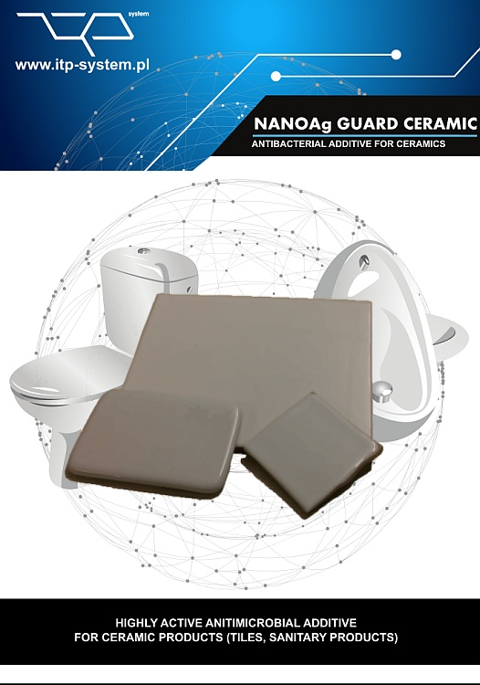 Antibacterial Nano Silver for Ceramic Production