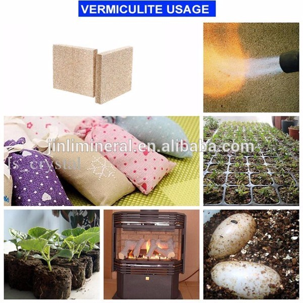 vermiculite for break linlings and break pads as friction & sealig materials