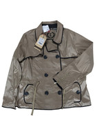 High end Branded waterproof Trench Coat with String belt