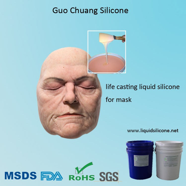 medical grade and skin safe liquid silicone rubber for mask making