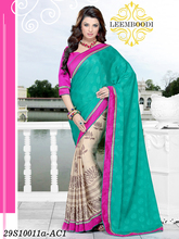 saree wholesale market in surat/heavy work saree/party wear saree with designer blouse material