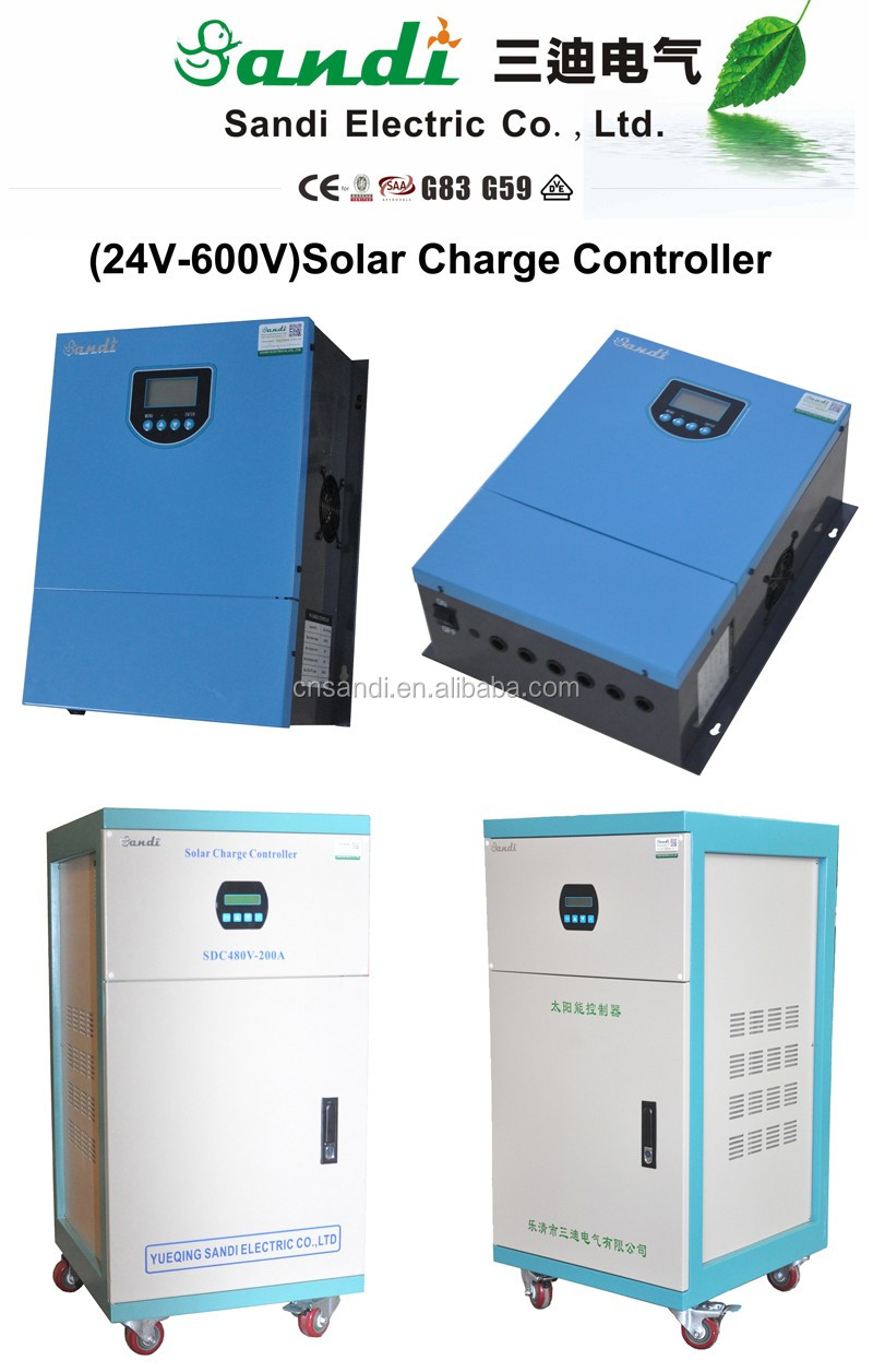 420V 100A PWM solar charge controller with IGBT module